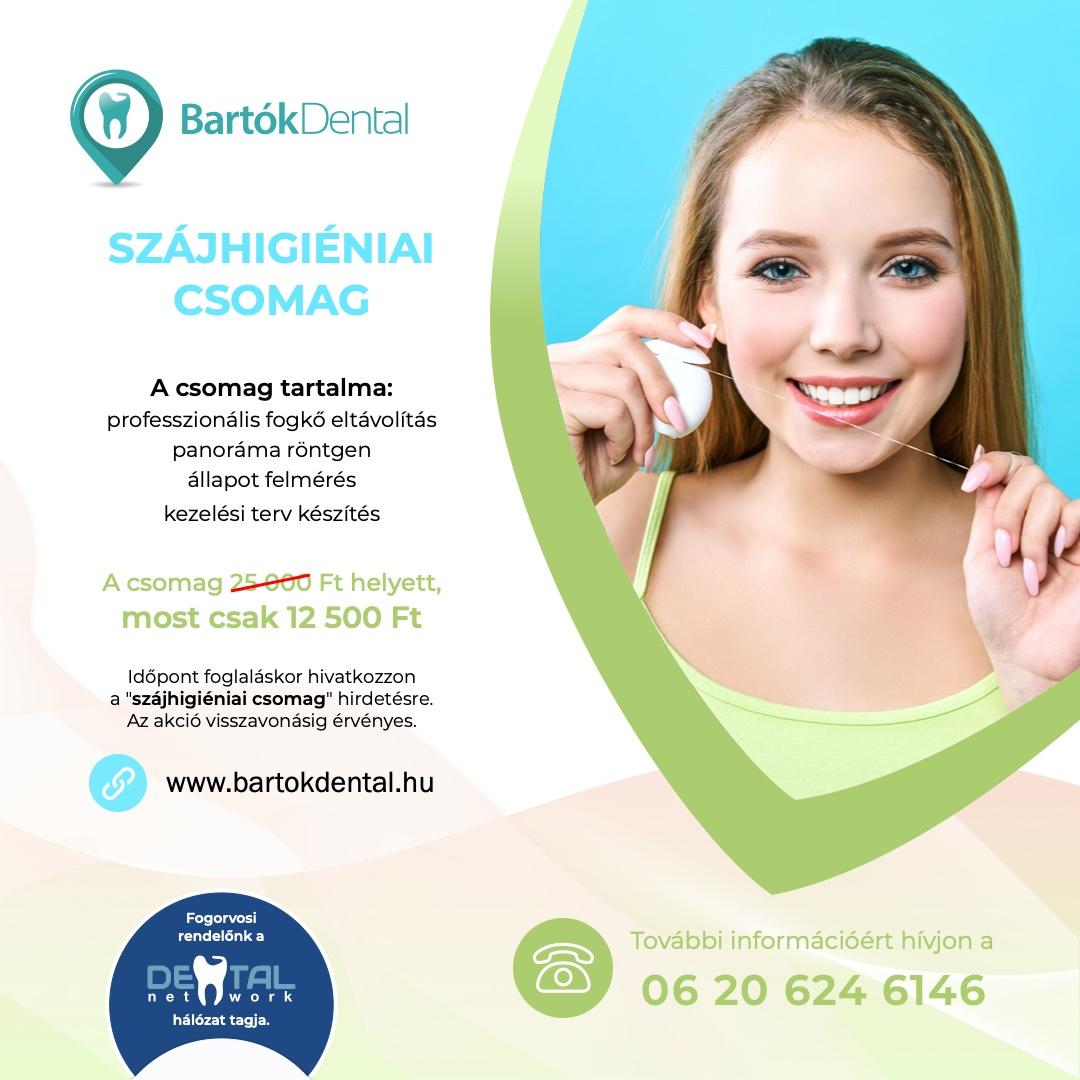 Bartók Dental Fogászat - akció